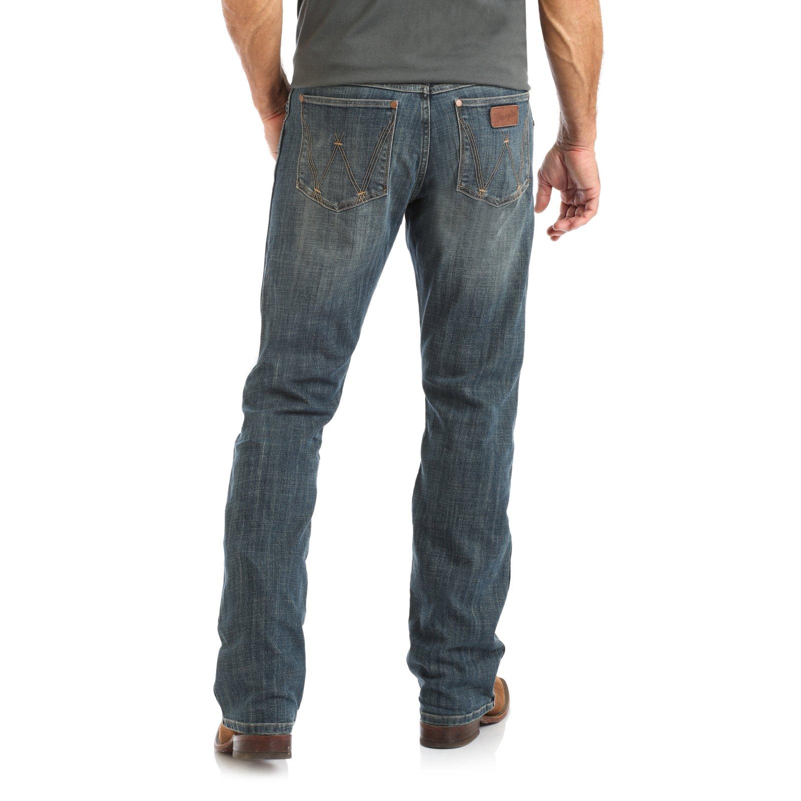 Men's Retro Slim Boot Jean from Wrangler