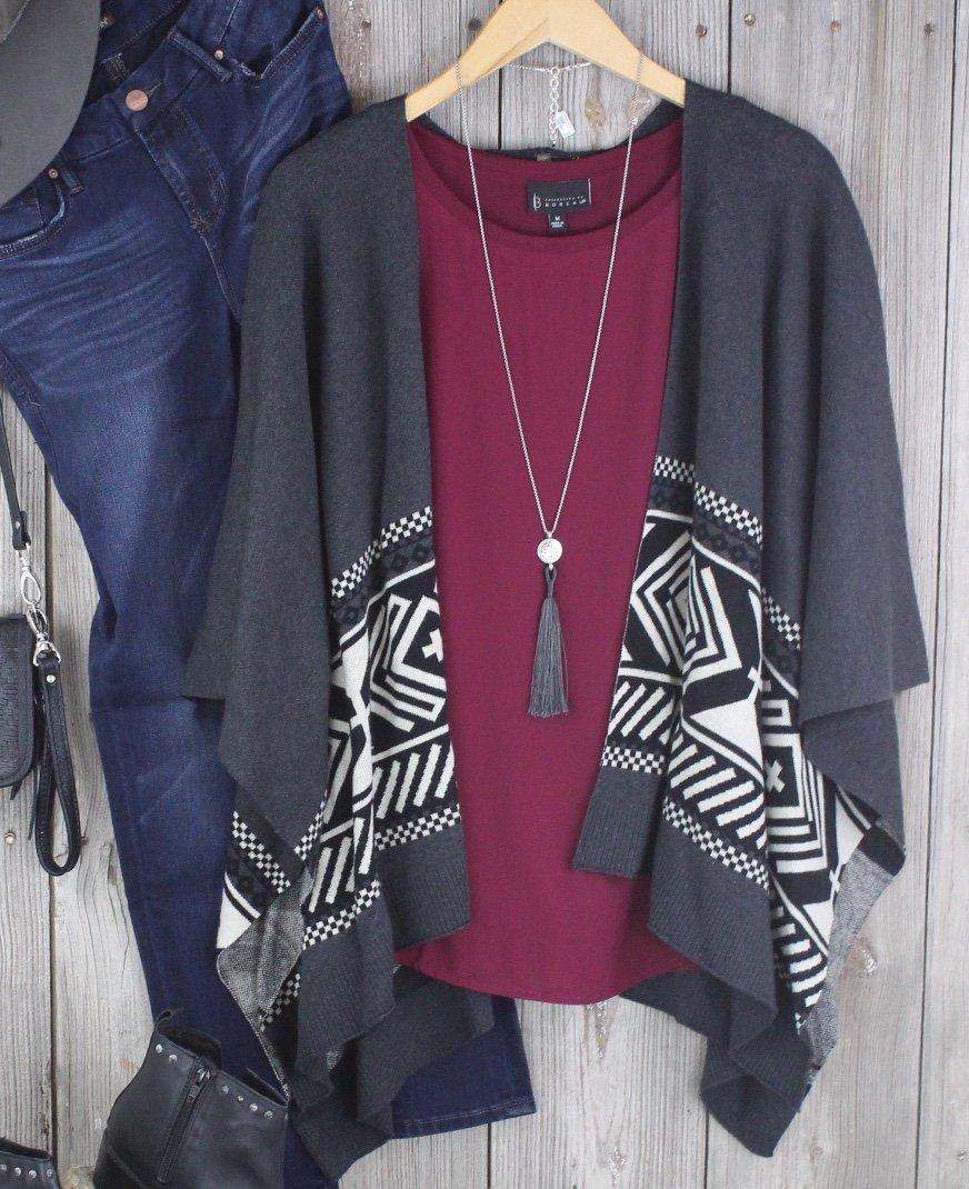 Kimono Sweater from Stetson
