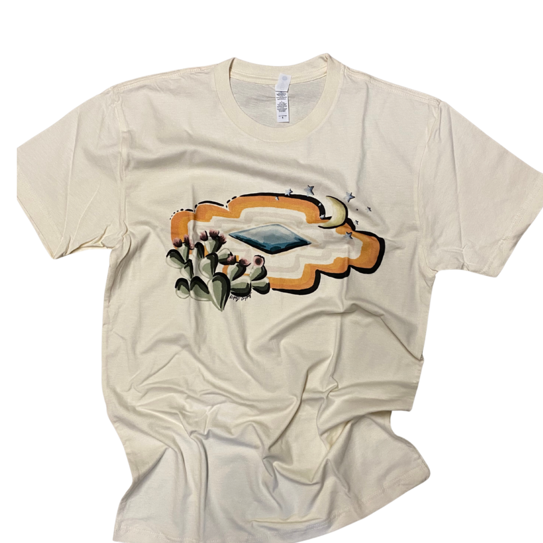 Cactus Dreaming Graphic Tee from Crazy Consuela
