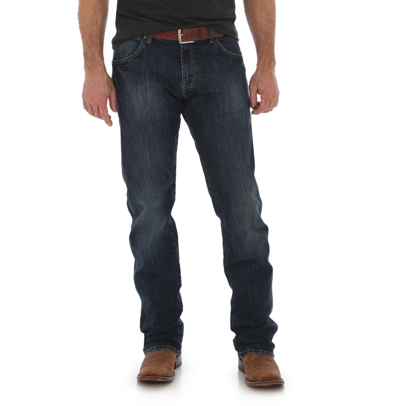 Men's Retro Slim Straight Jean from Wrangler - Oldham