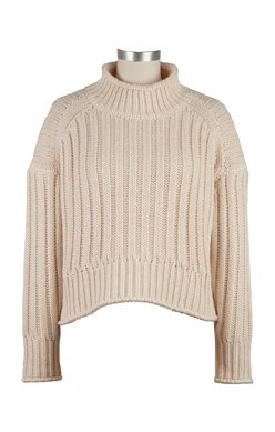 Leona Ribbed Pull On Long Sleeve Turtleneck Sweater from Kut from the Kloth