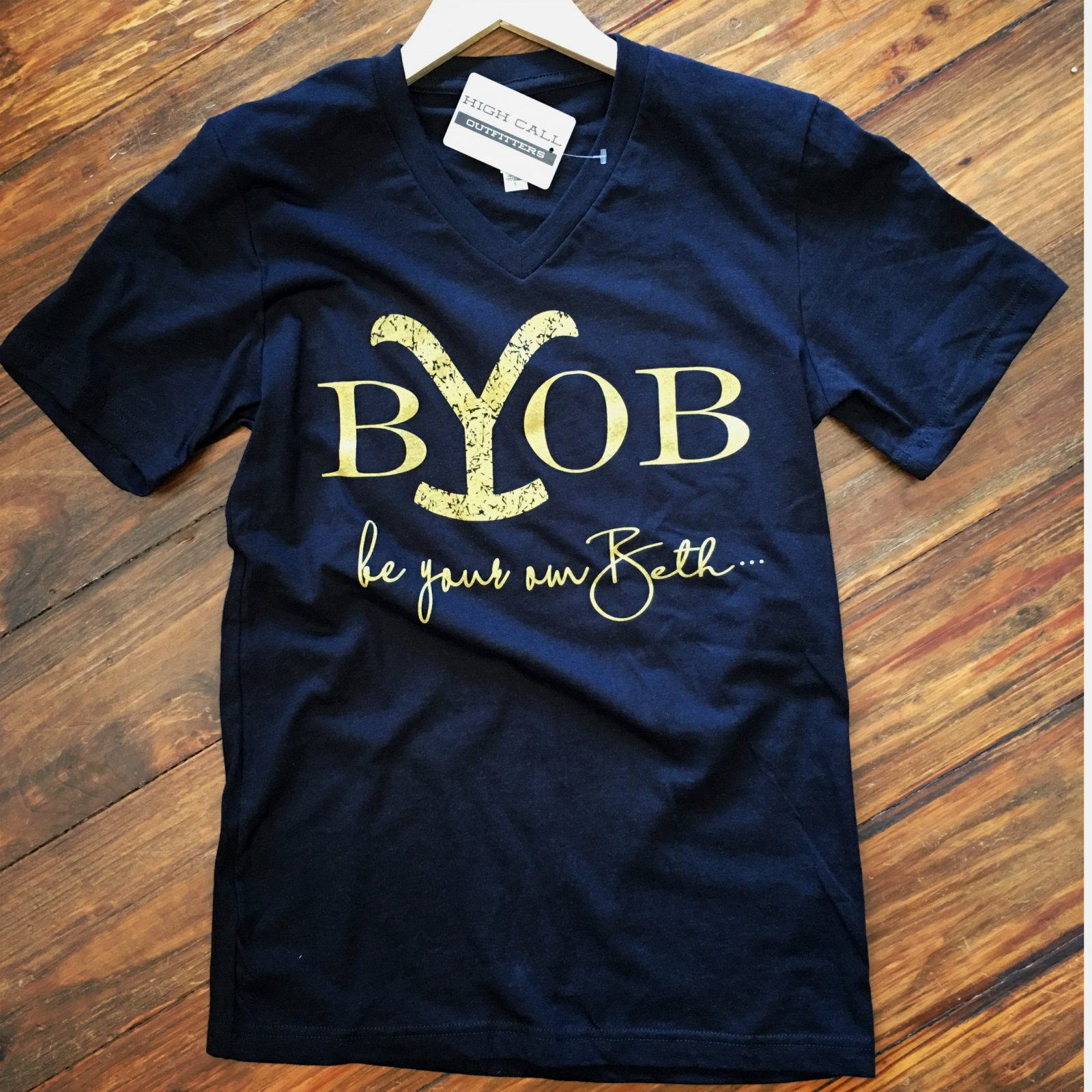 BYOB Be your own Beth  V Neck
