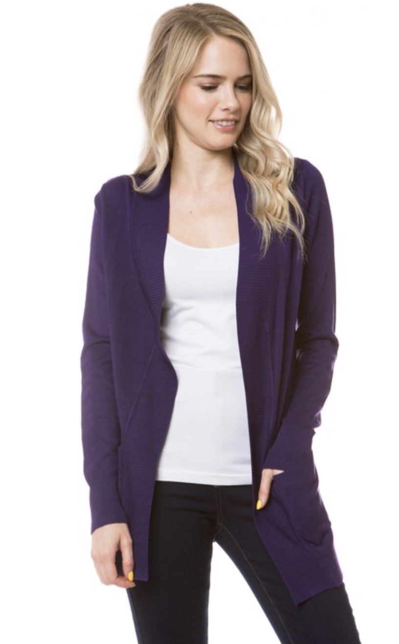 Classic Cardigan Sweater with Pockets