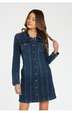 Josephine Long Denim Dress/Jacket from Dear John