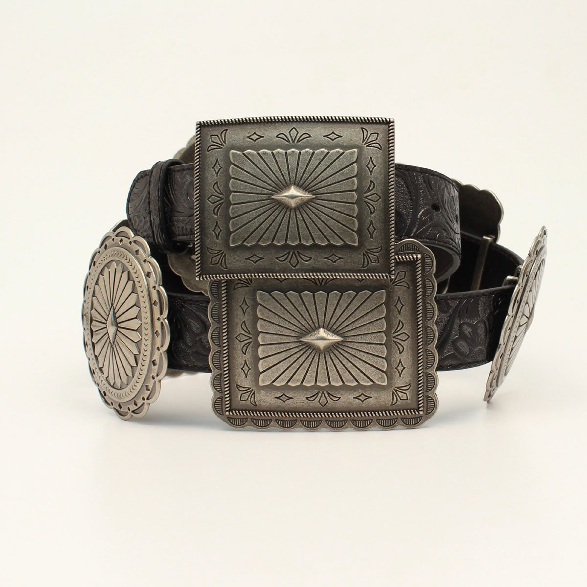 Embossed Concho Belt from Ariat