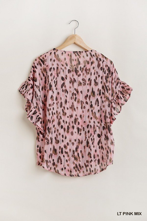 Animal Print Top from Umgee