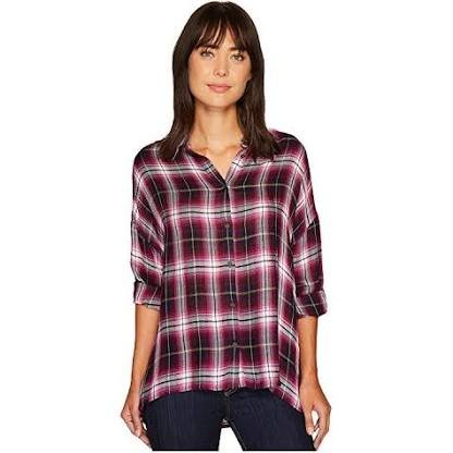 Plaid button up from Kut from the Kloth