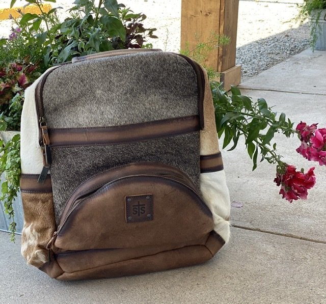 Cowhide Backpack from StS Ranch