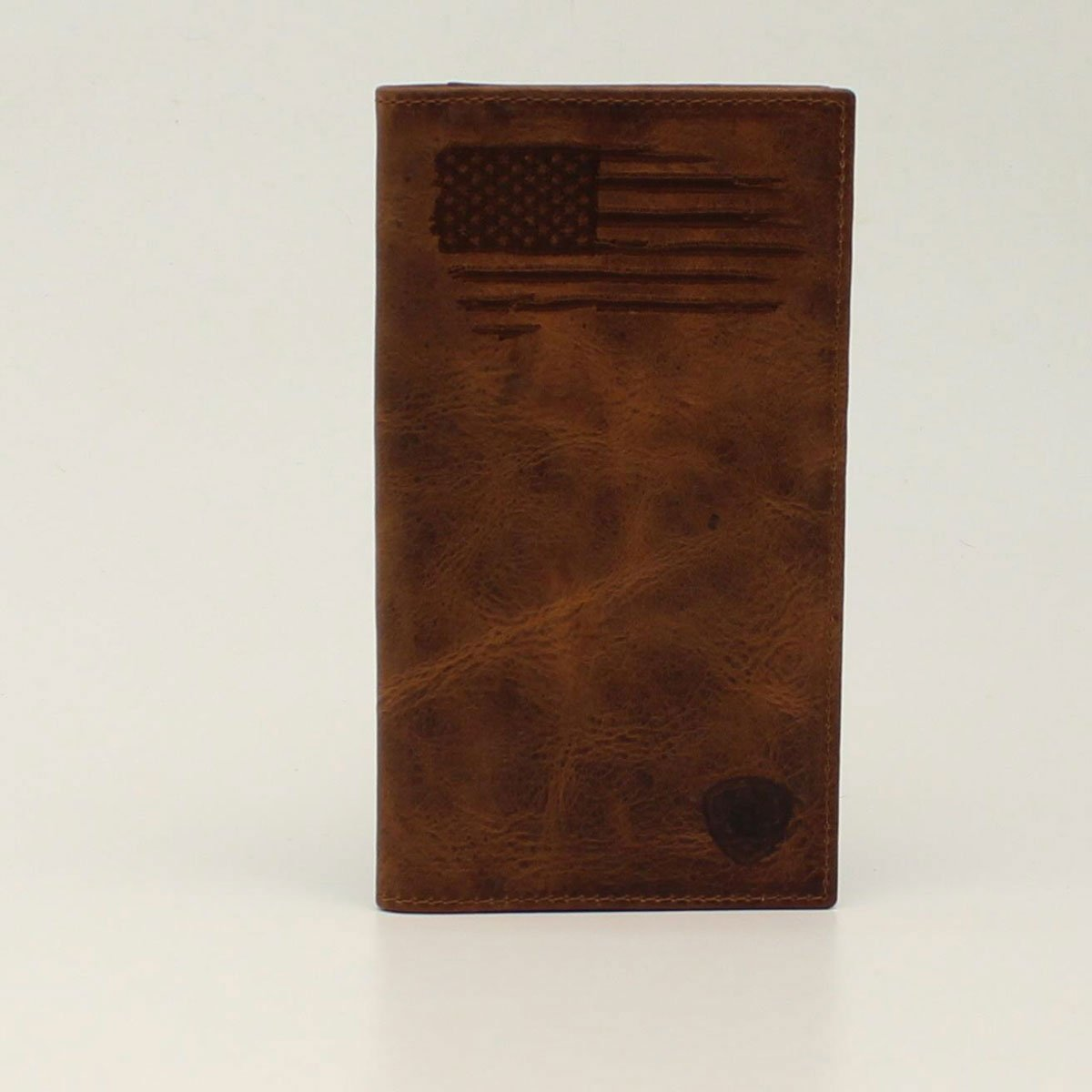 Distressed Stitch USA Flag Rodeo Wallet from Ariat