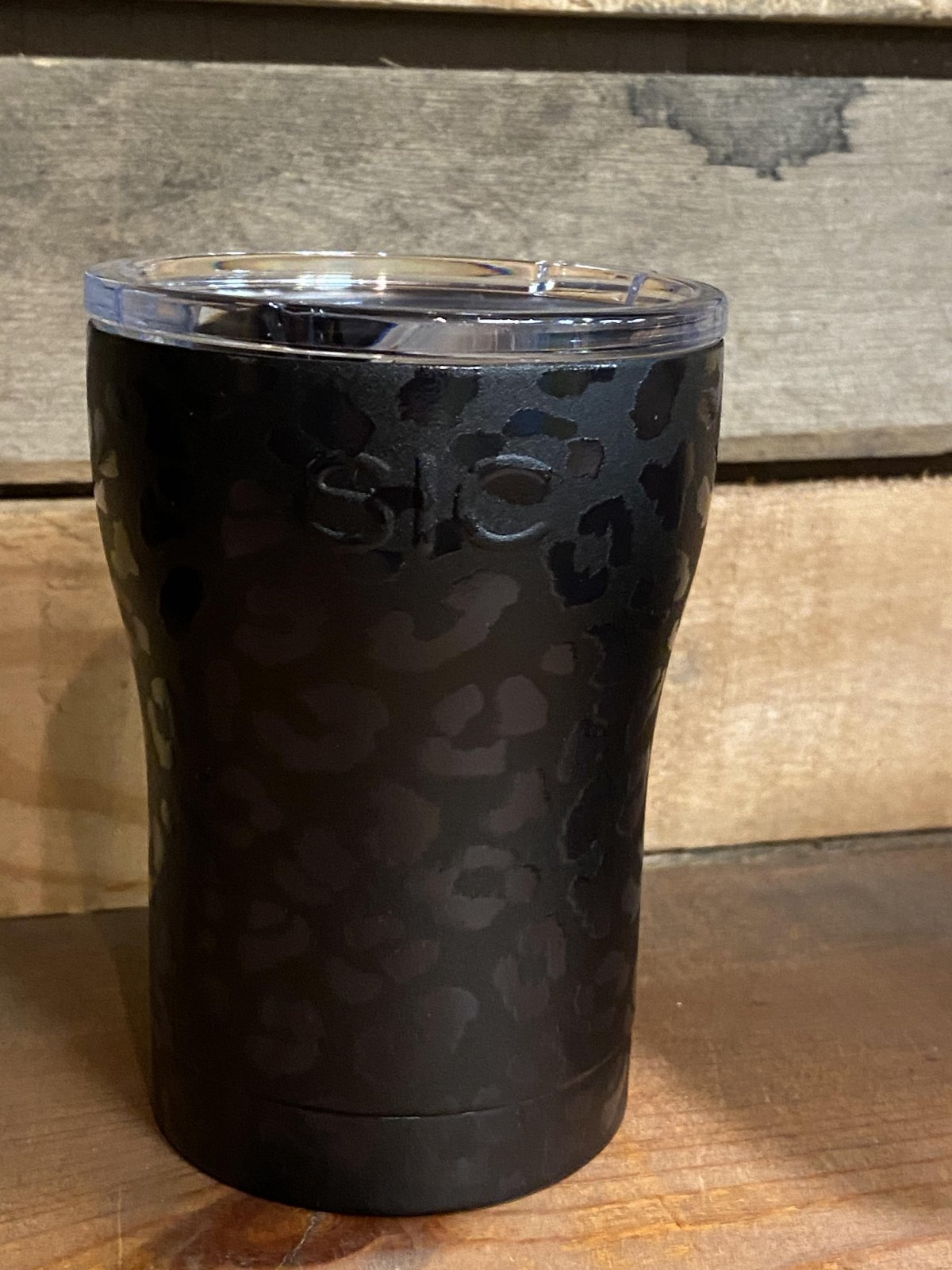 12oz Leopard Eclipse SIC Stainless Steel Tumbler