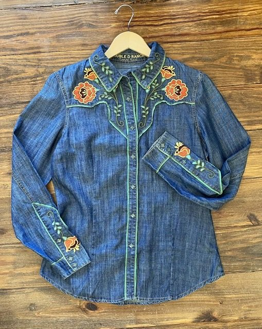 Everybody's Talking Workshirt from Double D Ranch