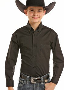 Boy's Long Sleeve Woven from Panhandle Slim
