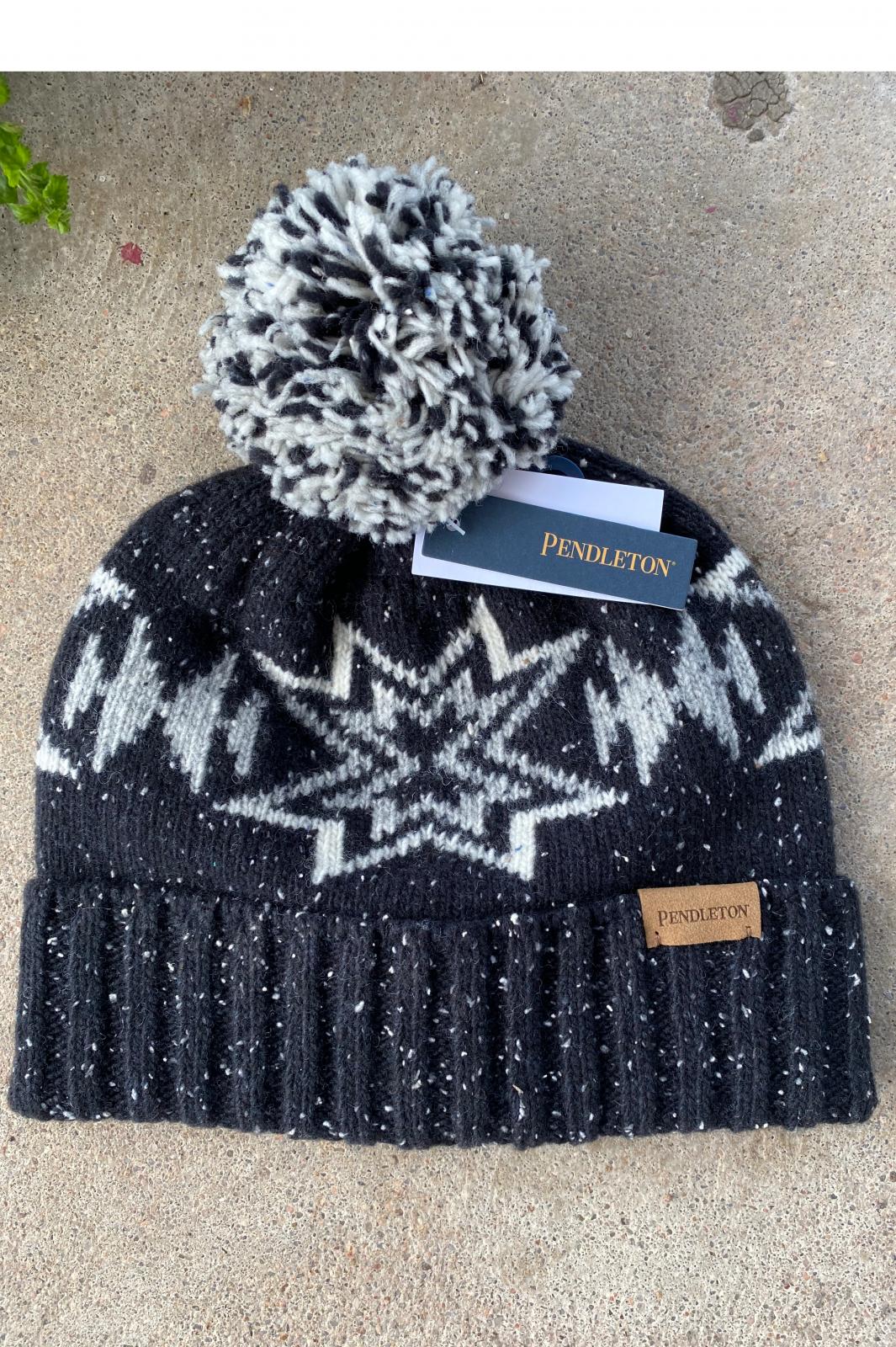 Plains Star Pom Pom Hat from Pendleton