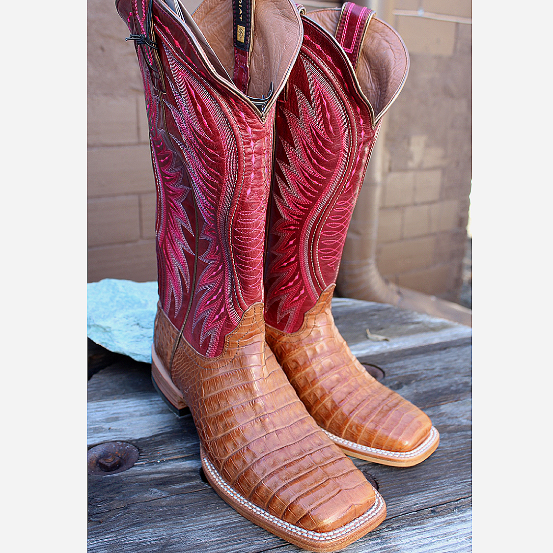 Ladies Valquera Caiman Boot from Ariat