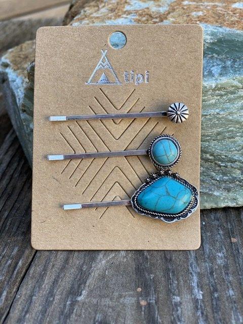 Sierra Set of Bobby Pins