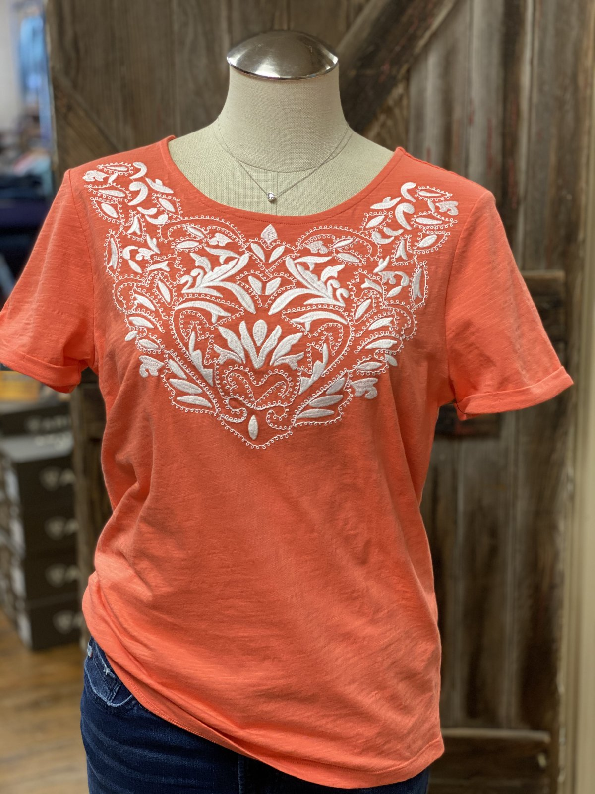Embroidered Top from Tribal