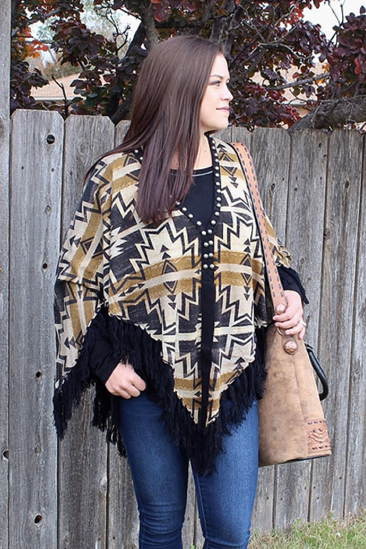 Bedroll Blanket Poncho from Double D Ranch