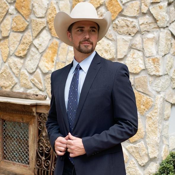 The Longhorn Saguaro Necktie from Fringe Scarves