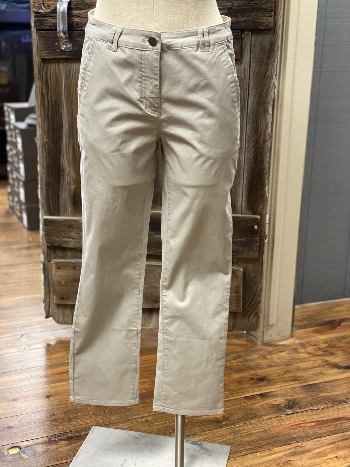 Ultra Soft Cropped Twill Pant from Tribal