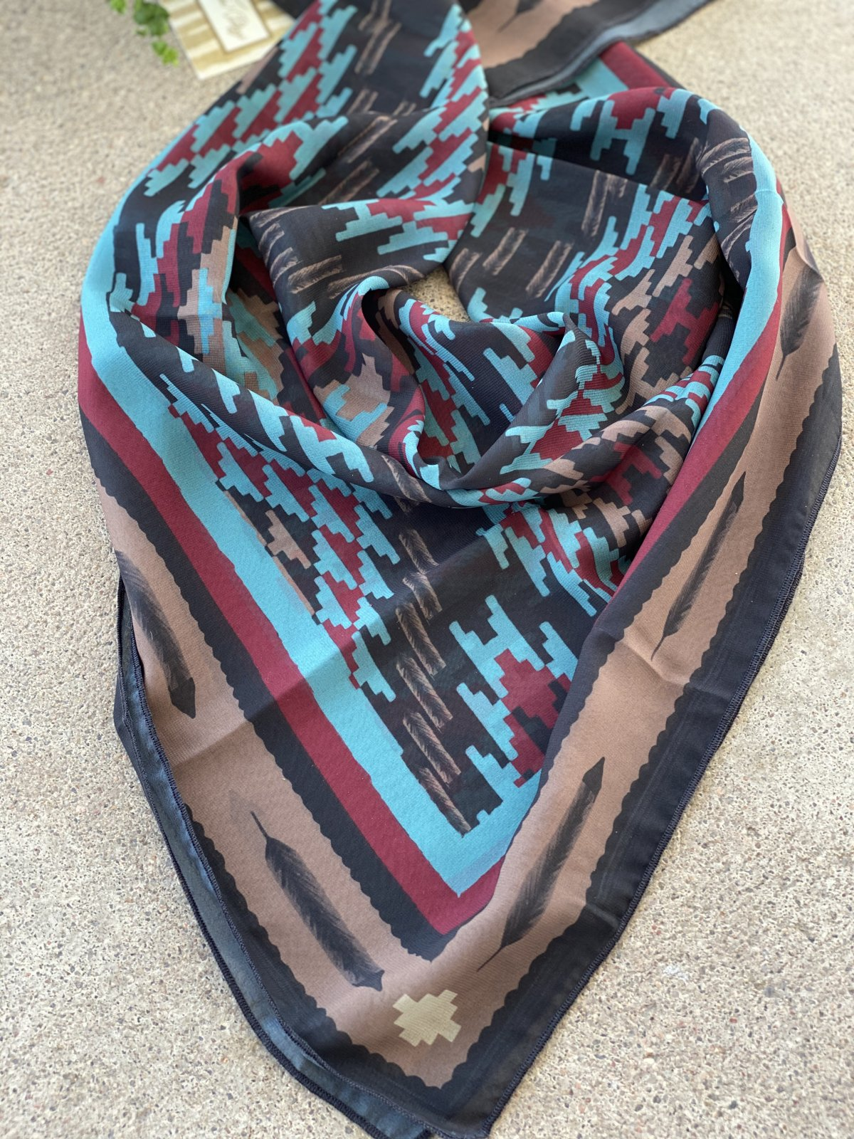 Birch Creek Scarf from Tasha Polizzi
