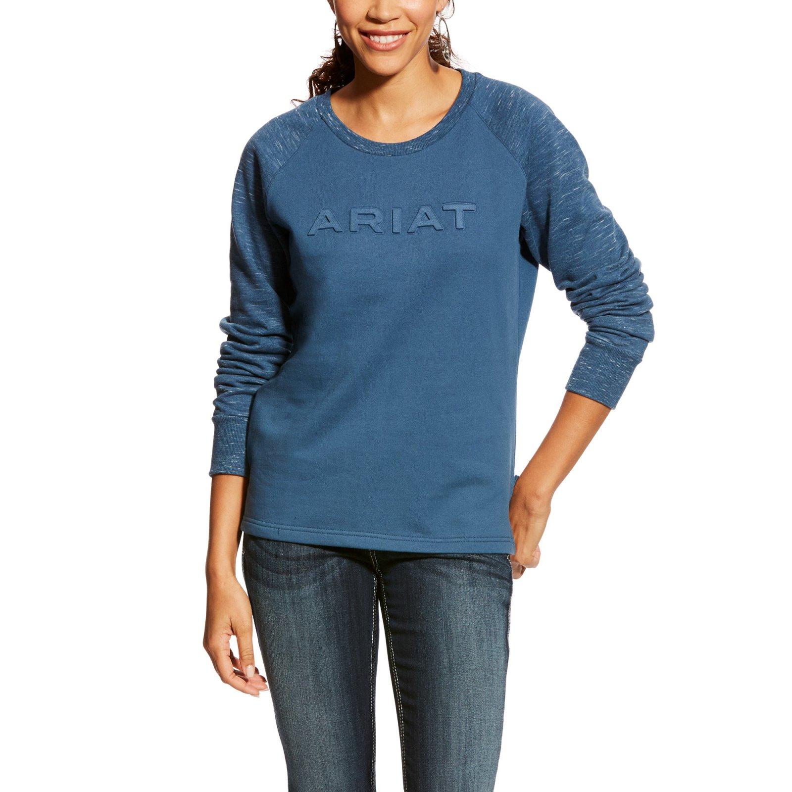 Real Logo Crew Sweatshirt from Ariat