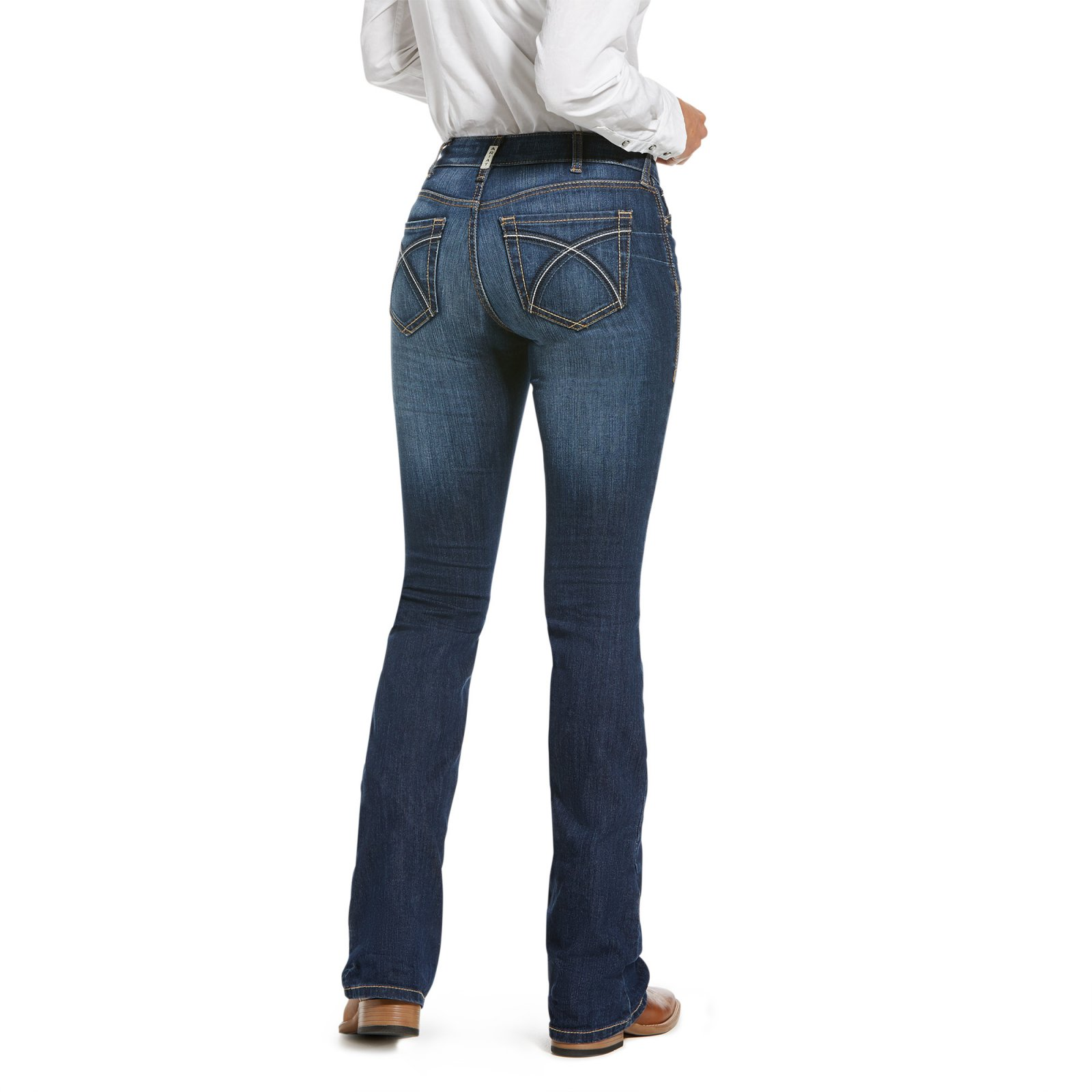 R.E.A.L. Perfect Rise Rosa Denim from Ariat