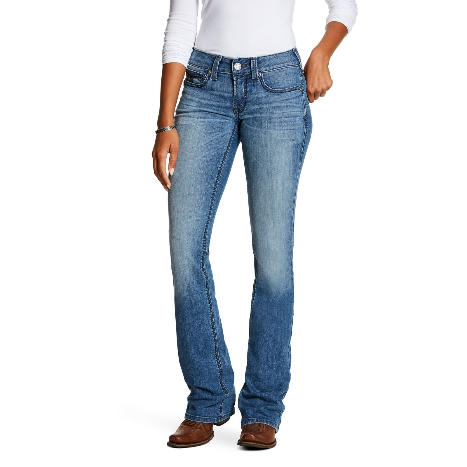 REAL Mid-Rise Shawna Boot Jean from Ariat
