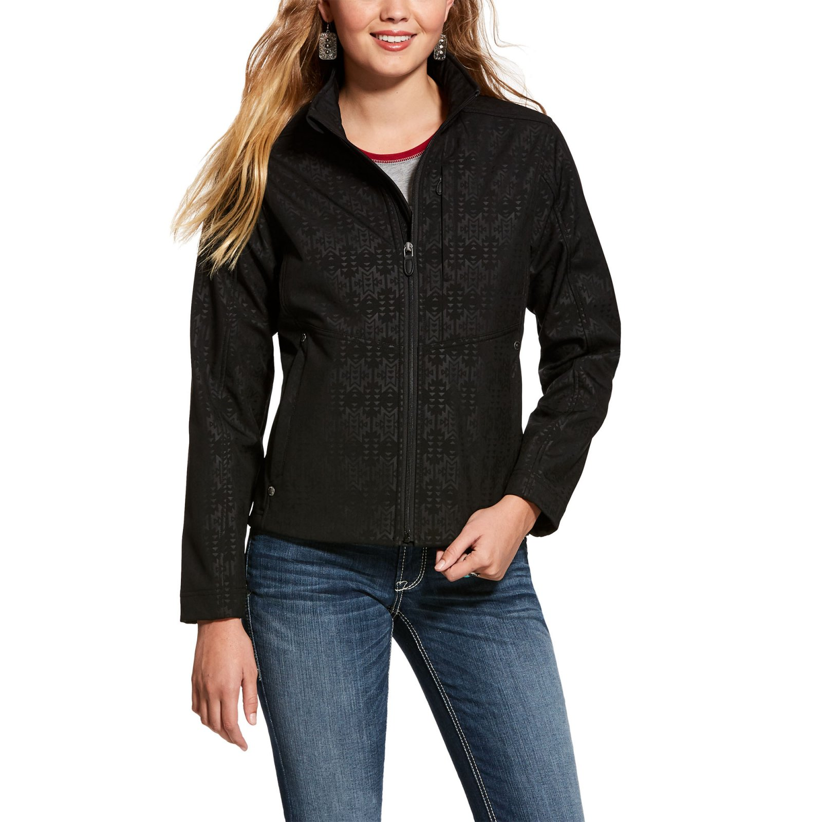 R.E.A.L. Aztec Pattern Conceal and Carry Jacket from Ariat