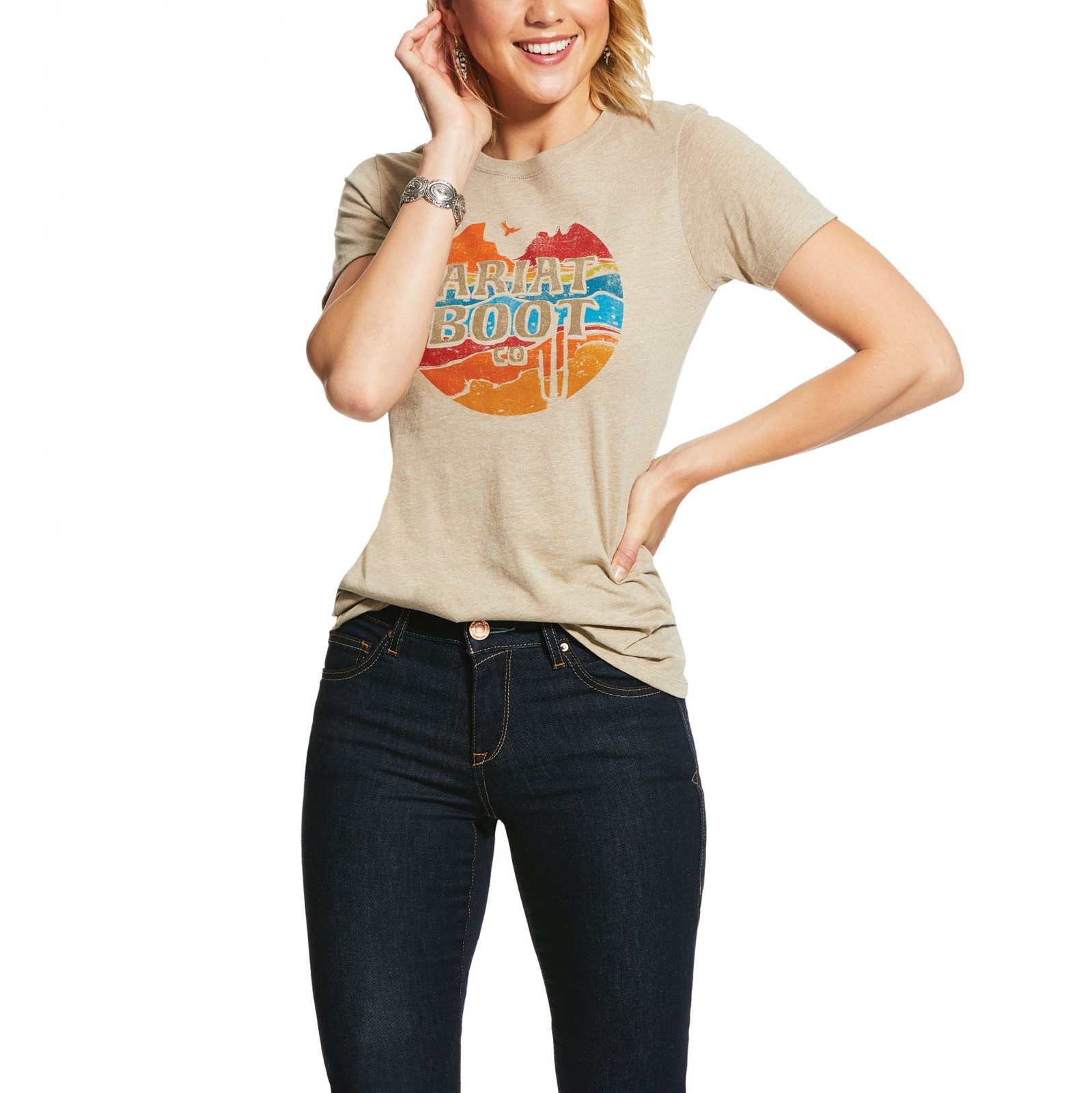 Longhorn Boot Co Tee from Ariat