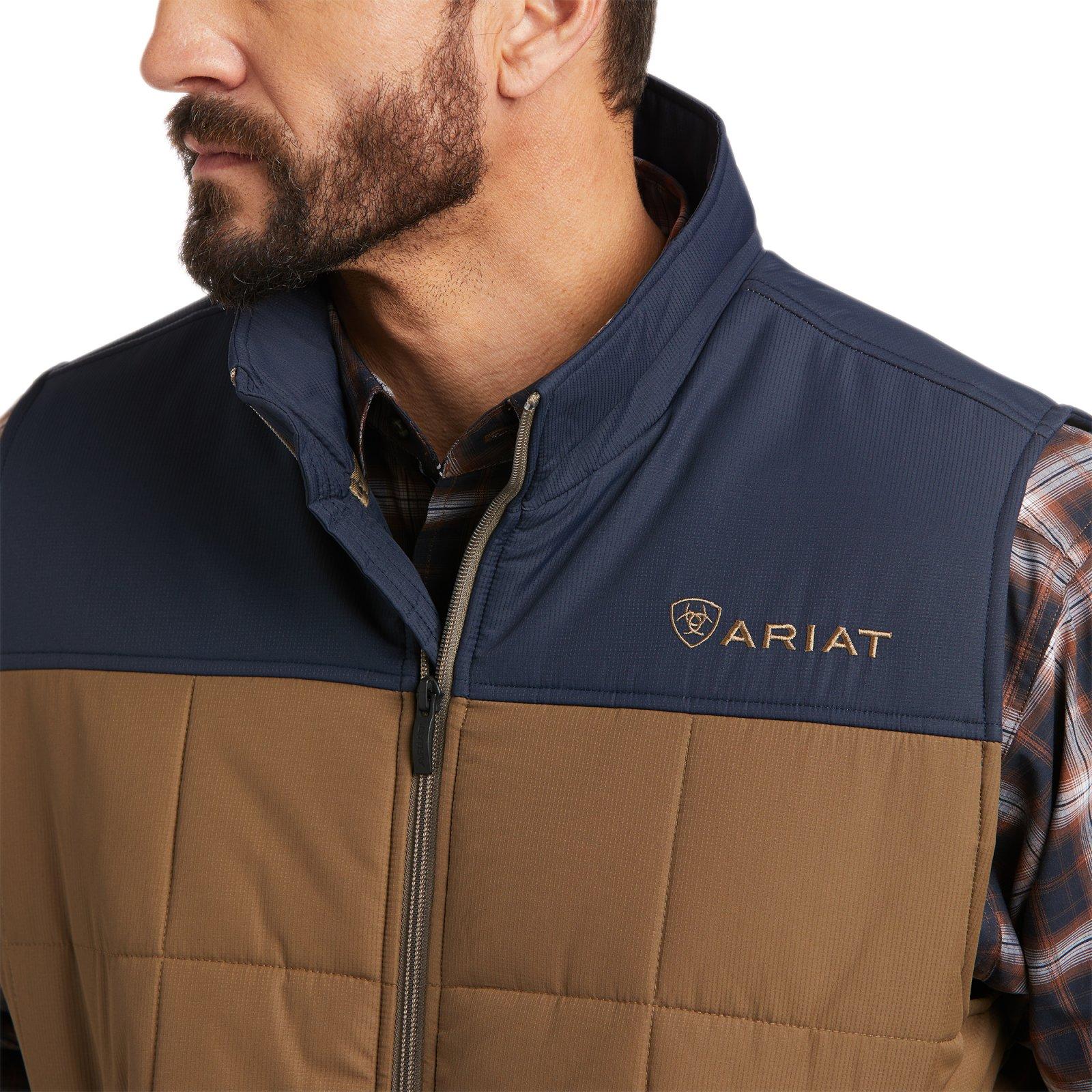 Crius Color Block Insulated Vest from Ariat