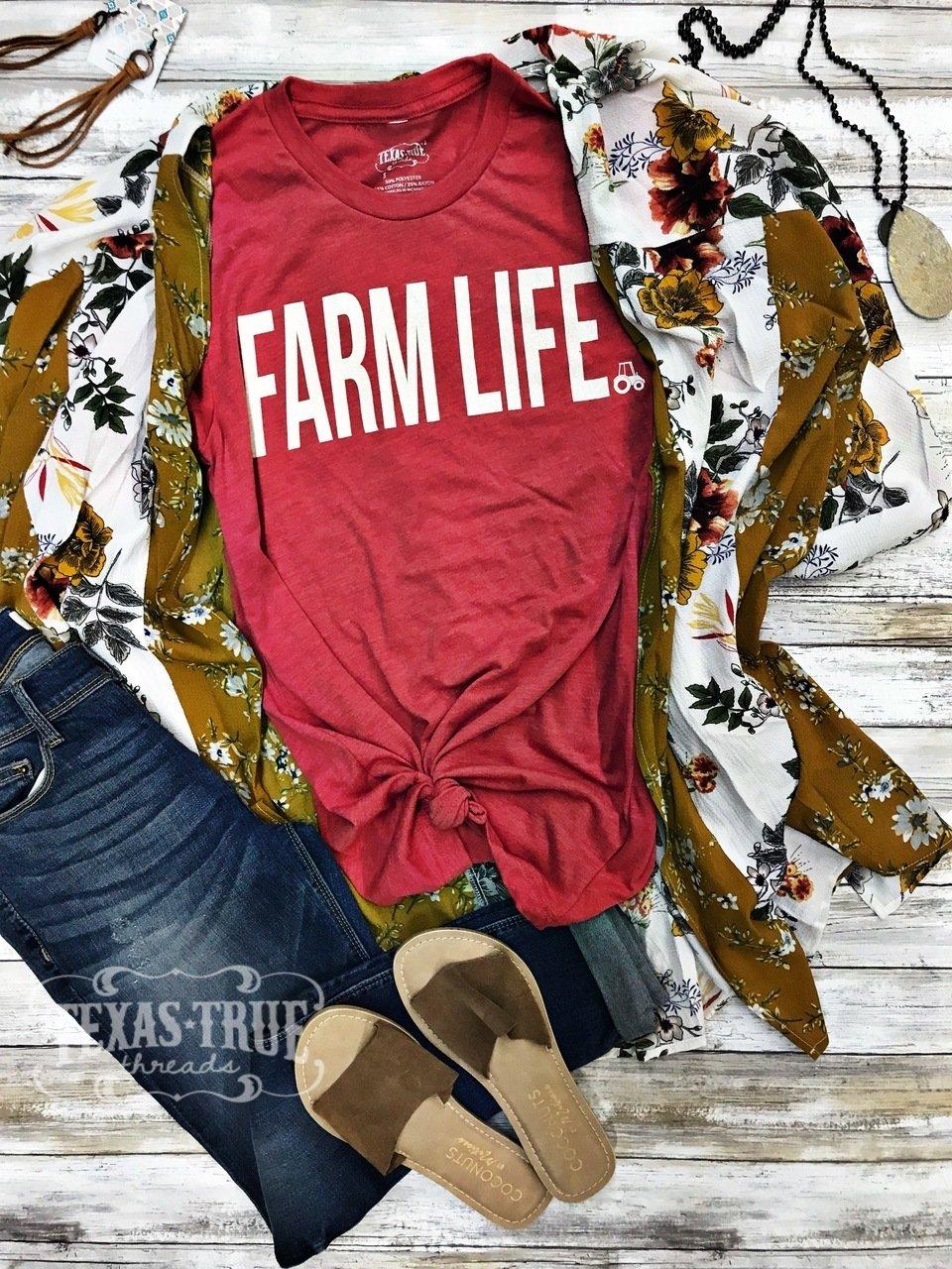 Farm Life Tee Shirt