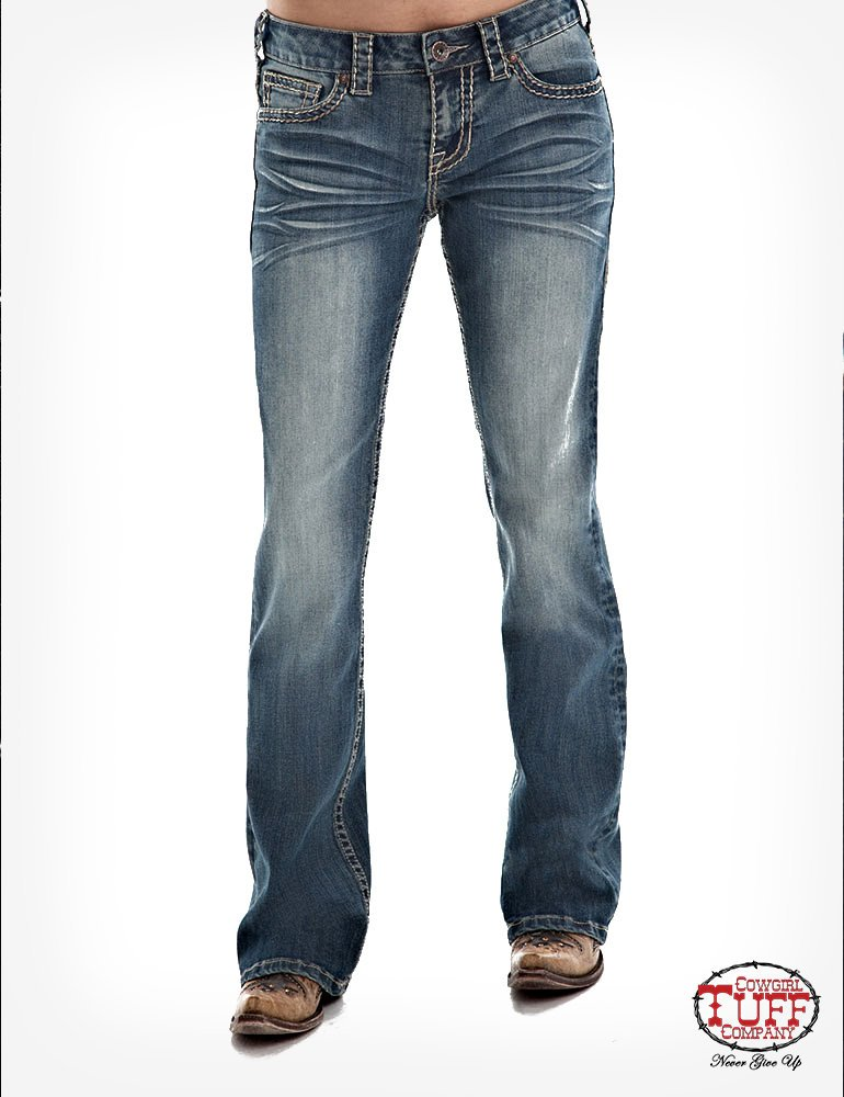 Ladies Golden Aztec Jean from Cowgirl Tuff