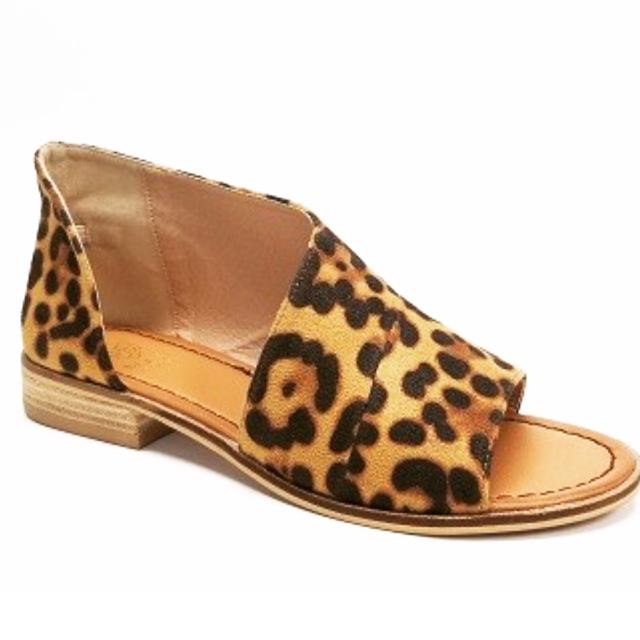 Leopard Open Side Flat
