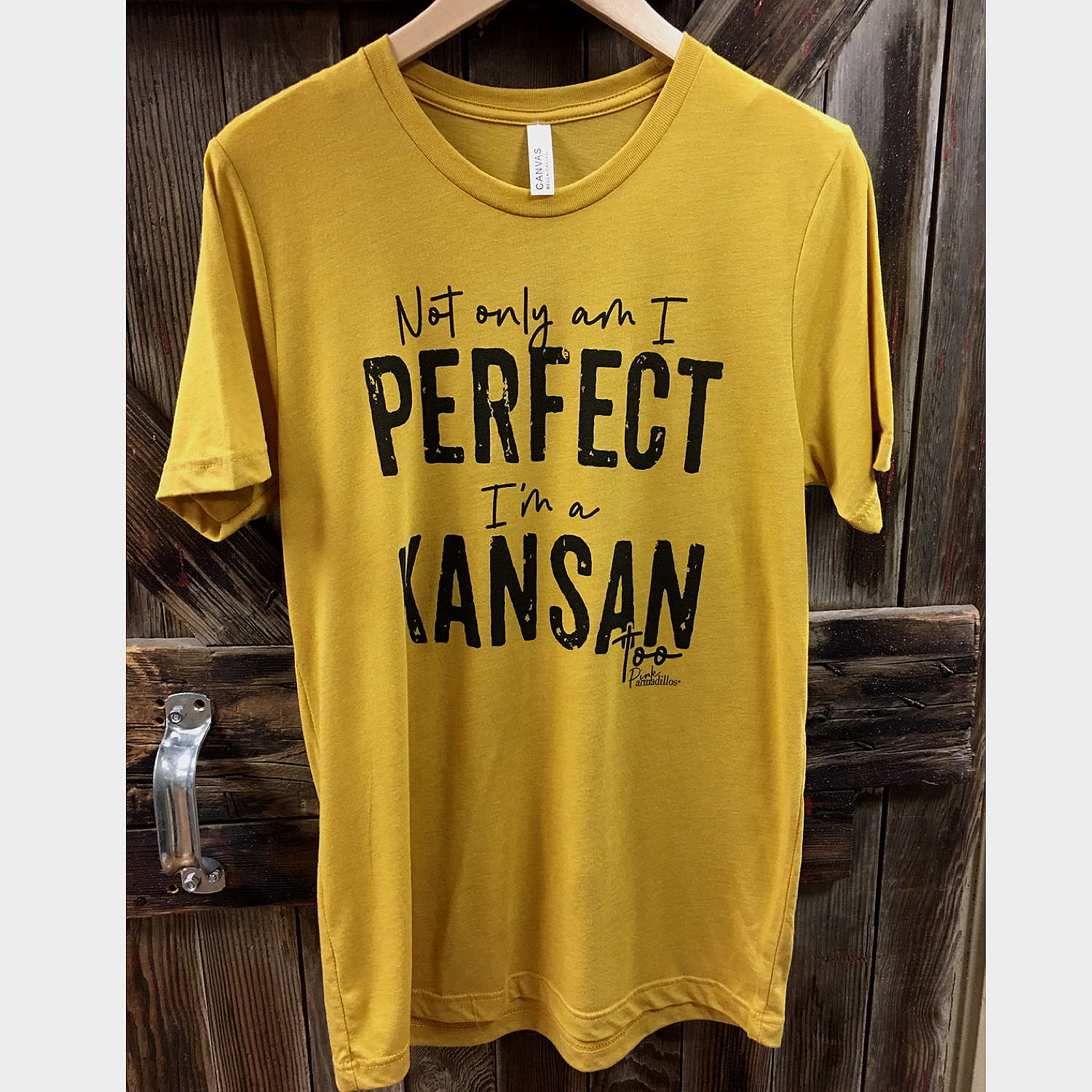 Perfect I'm A Kansan Graphic Tee