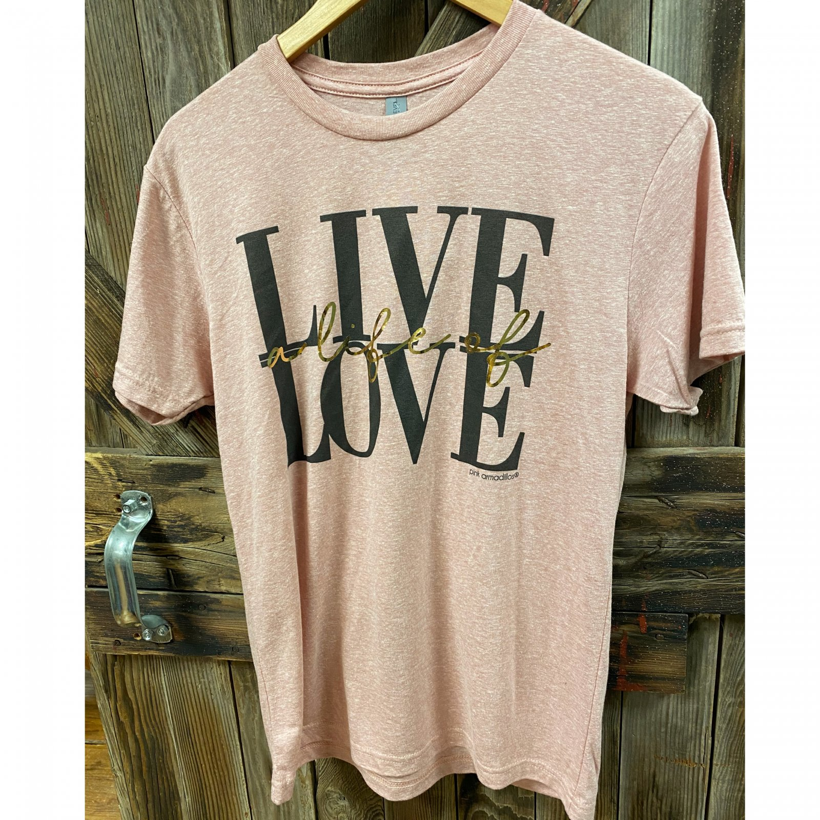 Live a Life of Love Vintage Tee