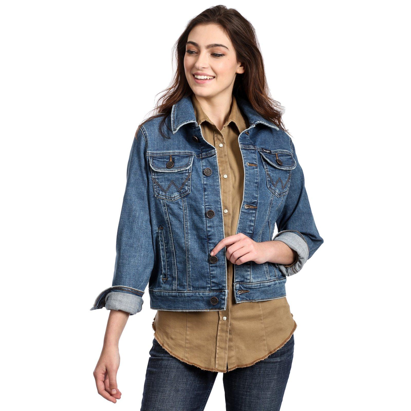 Ladies Denim Jacket from Wrangler