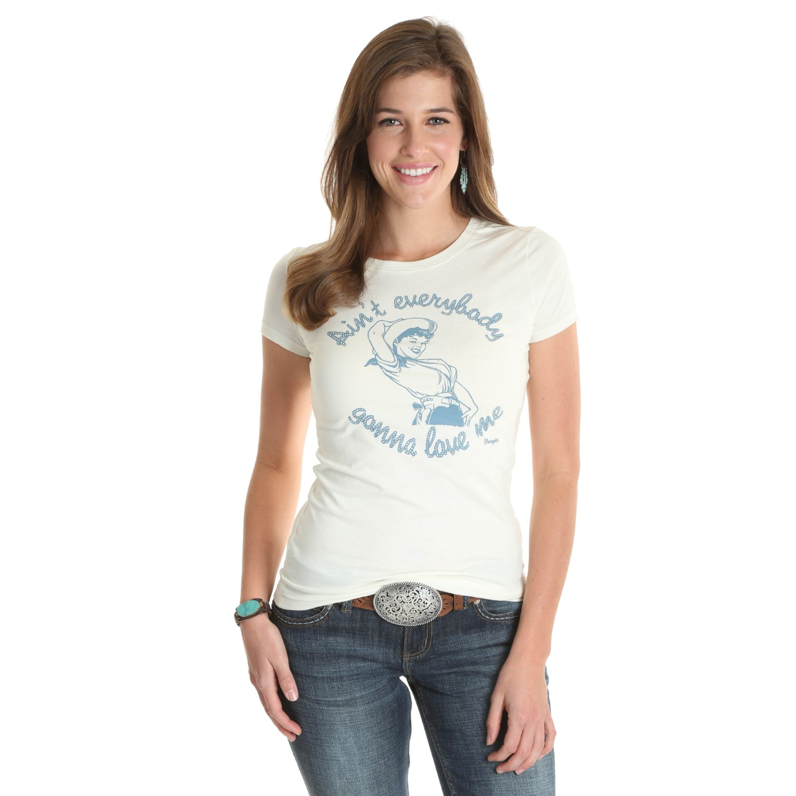 Ain't Everybody Gonna Love Me Graphic Tee from Wrangler