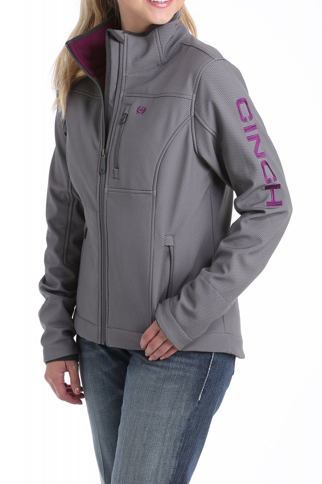 Printed Bonded Carry & Conceal Jacket from Cinch