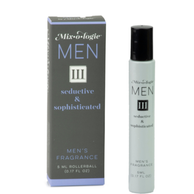 Men III-Seductive & Sophisticated Roll-On Fragrance from Mix-O-Logie