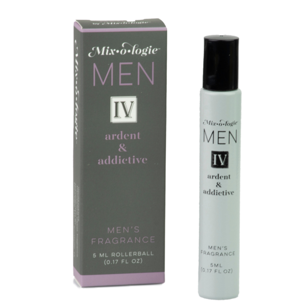 Men IV-Ardent & Addictive Roll-On Fragrance from Mix-O-Logie