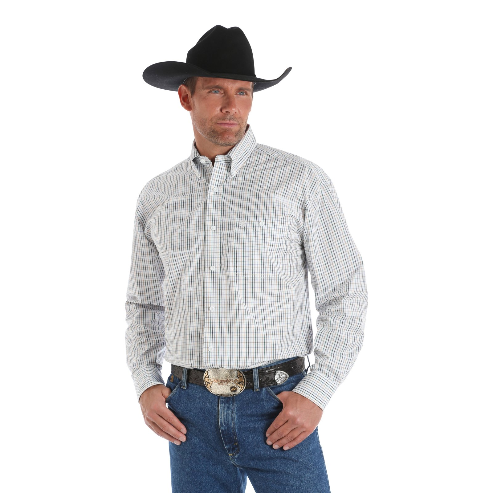 George Strait Long Sleeve Shirt from Wrangler