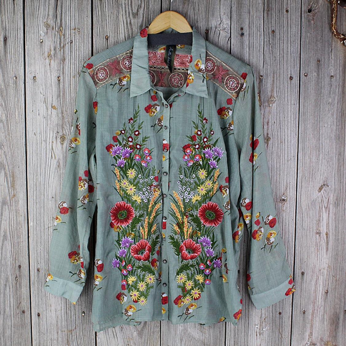 Mia Grace Shirt from Aratta