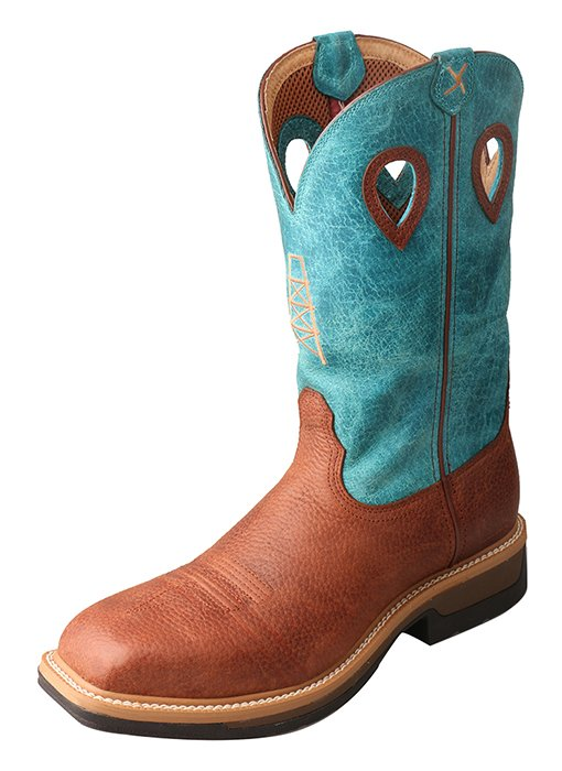 Mens Lite Cowboy Workboot from Twisted X