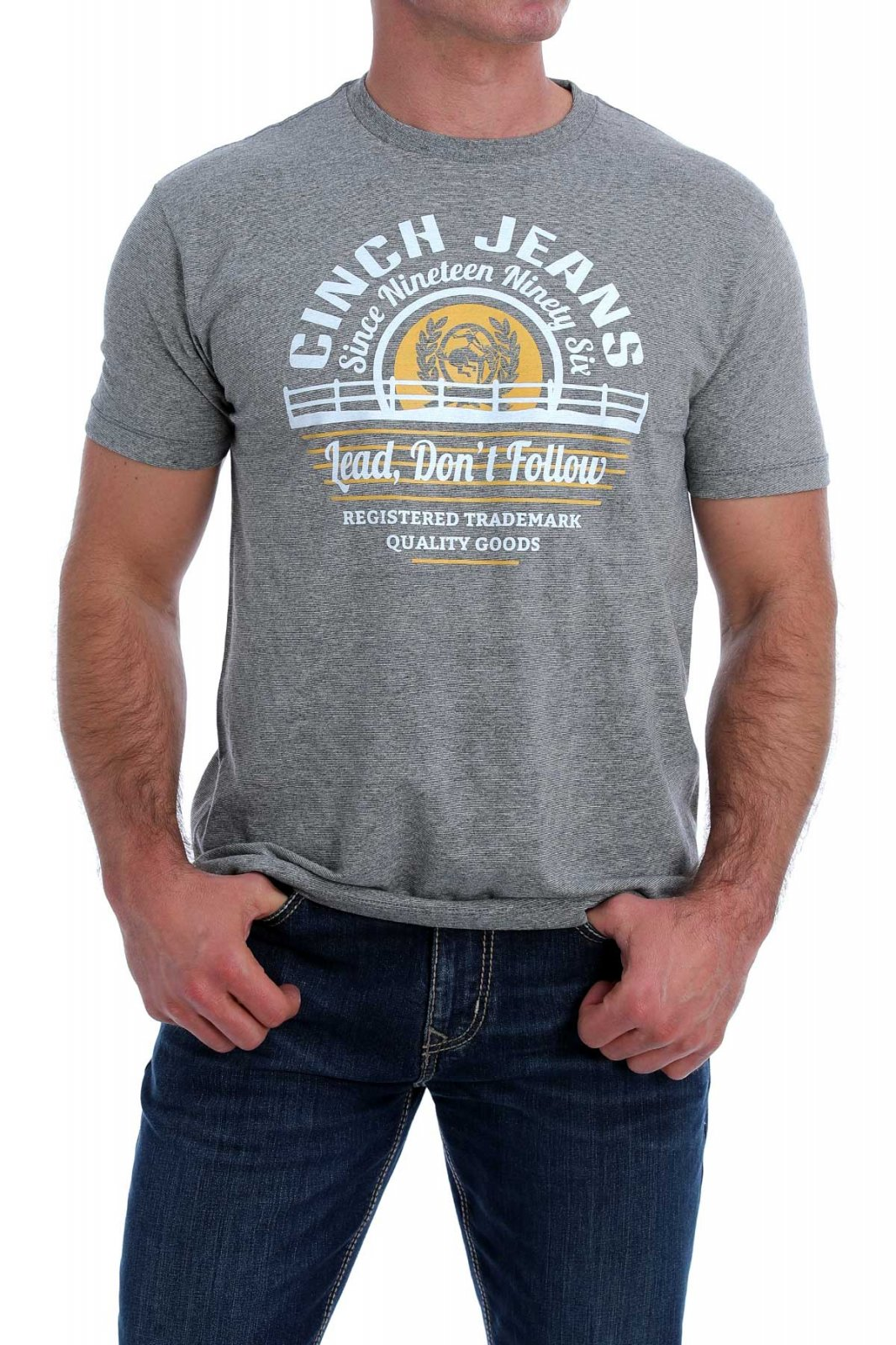 Lead Don't Follow Tee from Cinch