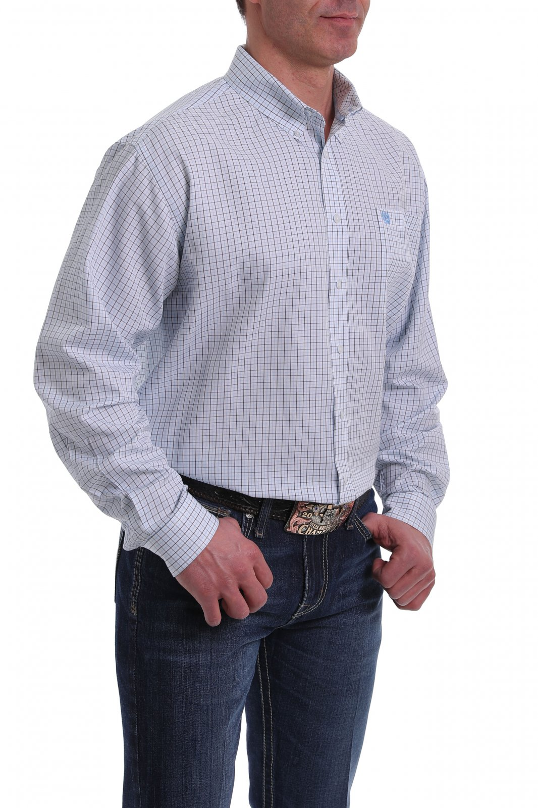 Long Sleeve Printed Woven from Cinch