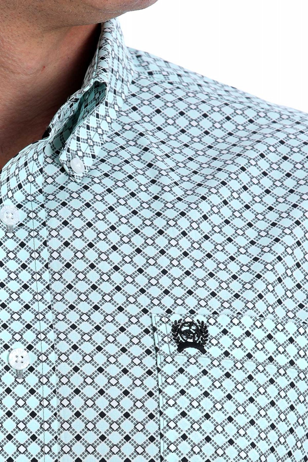 Short Sleeve Woven from Cinch