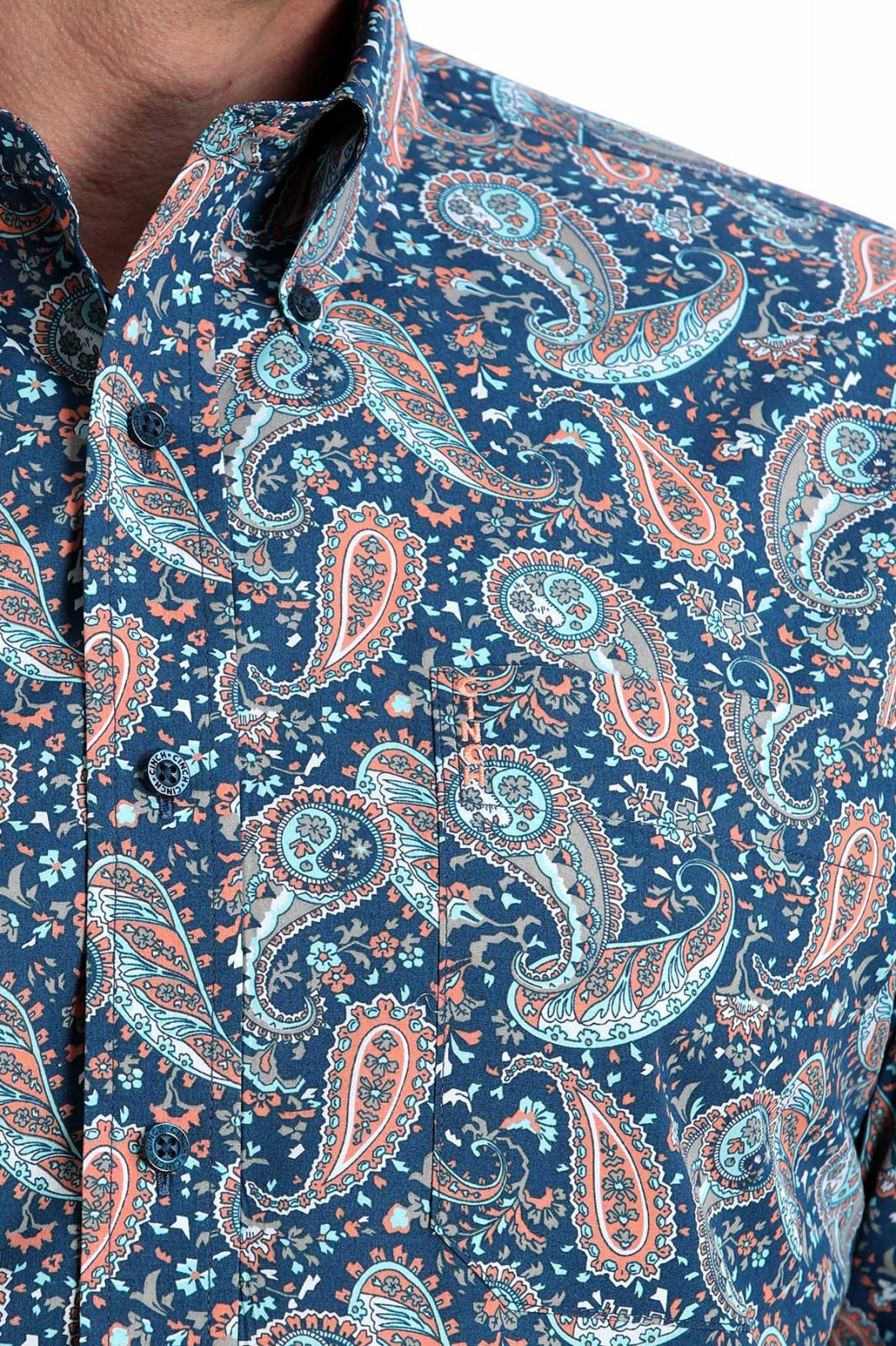 Modern Fit Long Sleeve Print from Cinch