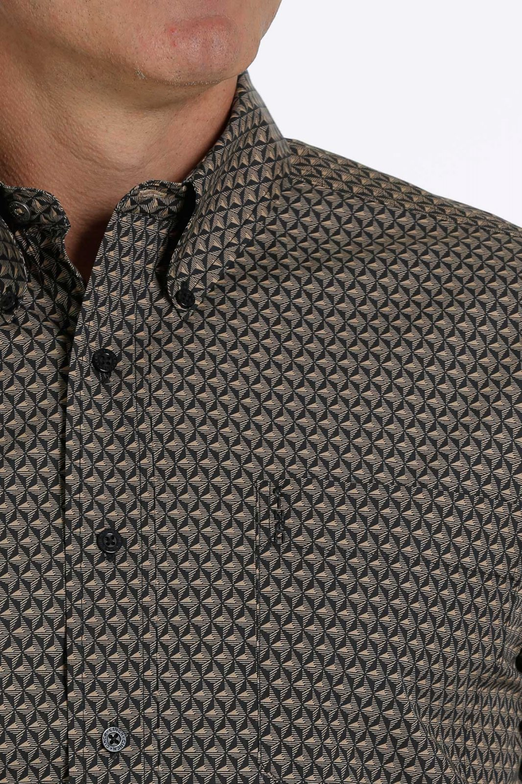 Print Long Sleeve Modern Fit Woven from Cinch