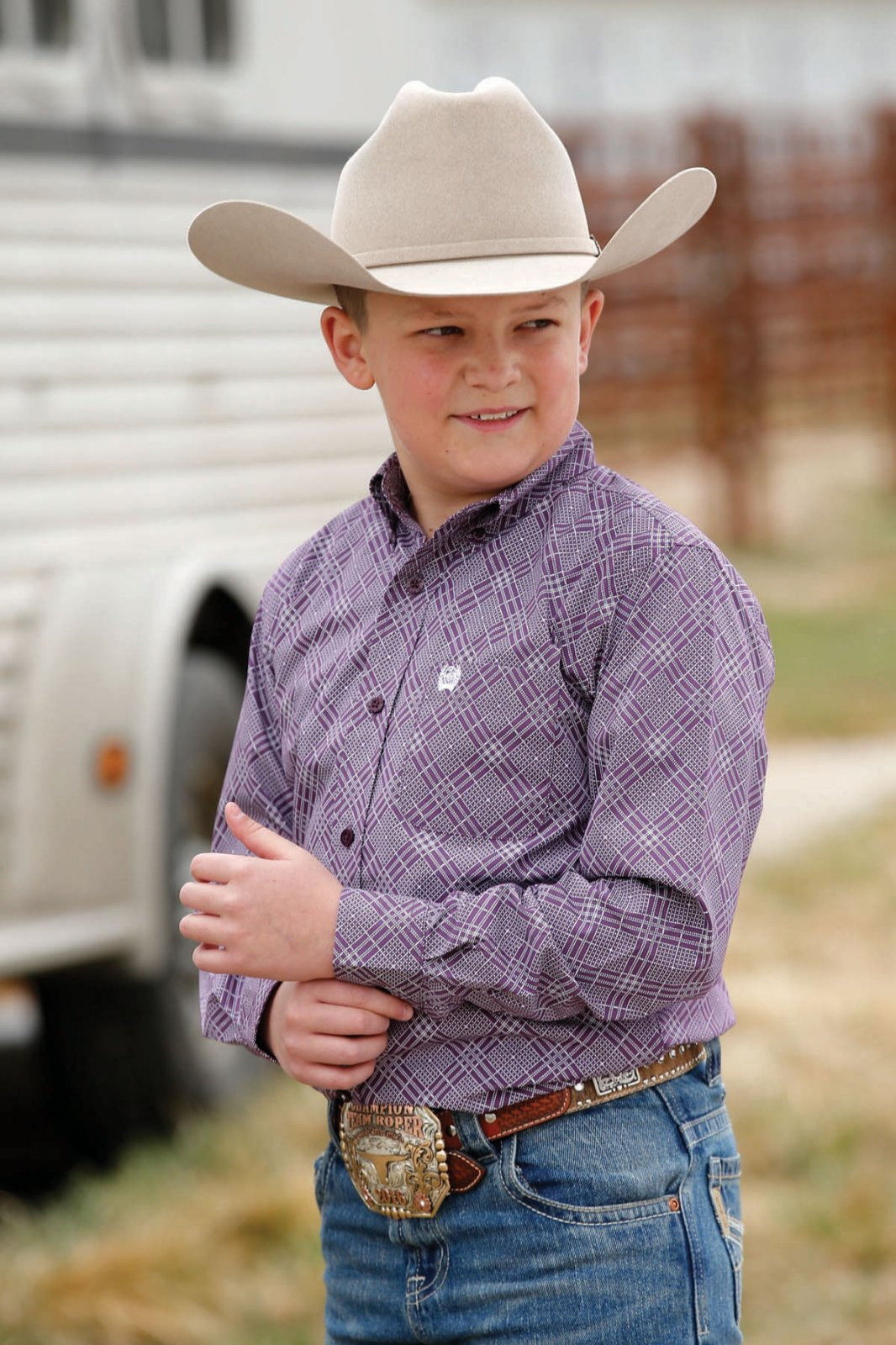 Boys Classic Woven from Cinch