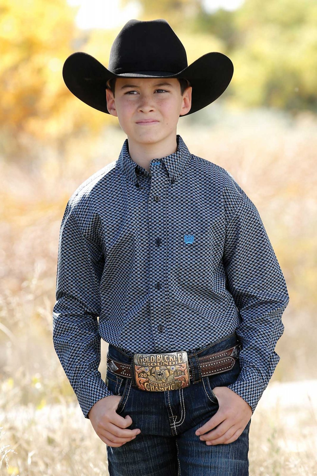 Long Sleeve Print  Shirt for Toddlers & Boys from Cinch